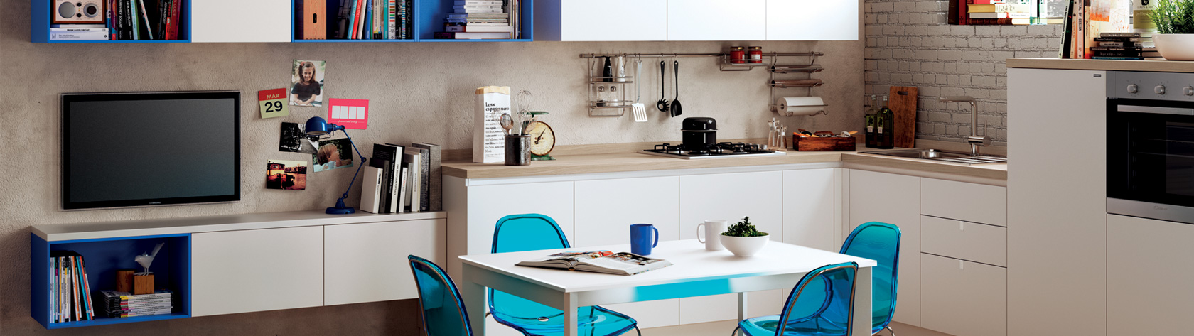 Scavolini Easy a great solution even for living area
